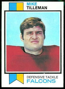 91_Mike_Tilleman_football_card
